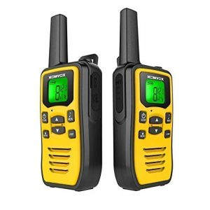 Rechargeable Walkie Talkies for Adults Long Range Two Way Radios, 2 Way Radio Survival Gear Fishing Equipment Kit, 22 Channels VOX Scan with LED Flashlight for Camping, Gifts for Teenage Boys 7-19