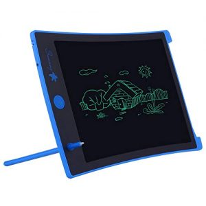 LCD Writing Tablet,8.5-inch Electronic Drawing Board and Doodle Board Gifts for Kids at Home and School (Blue)