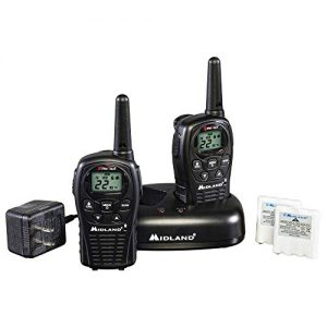 Midland – LXT500VP3, 22 Channel FRS Walkie Talkies with Channel Scan – Extended Range Two Way Radios, Silent Operation, Batteries Included (Pair Pack) (Black)