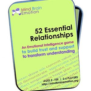52 Essential Relationships: Emotional Intelligence Game for Home, Work, and School – Builds Communications Skills, Perspective-Taking and Empathy – Created by Harvard Researchers