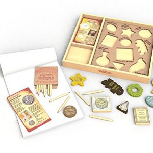 BeginAgain Arty Facts – Shaping History Stencil Kit (Creativity and Storytelling Skills) – 3 and Up