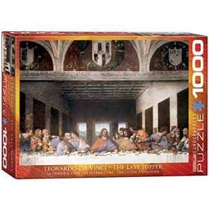 EuroGraphics The Last Supper by Leonard Da Vinci Puzzle (1000-Piece)