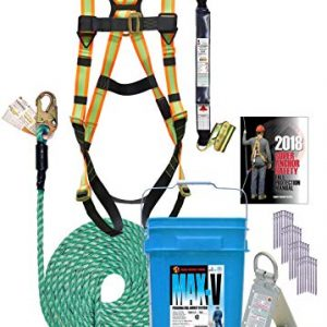 Super Anchor Safety 3200-50 MAX-V Fall Protection Kit, 50′