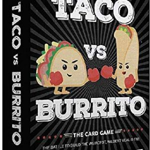 Taco vs Burrito – The Wildly Popular Surprisingly Strategic Card Game Created by a 7 Year Old