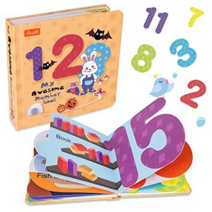 TUMAMA Baby Toys for 3 6 9 12 18 Months, My First Numbers Book, Early Educational Toys,Count Learning Book for Infant 1 2 3 Years Boys and Girls,Birthday
