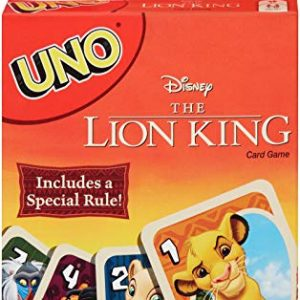 UNO: Disney The Lion King – Card Game