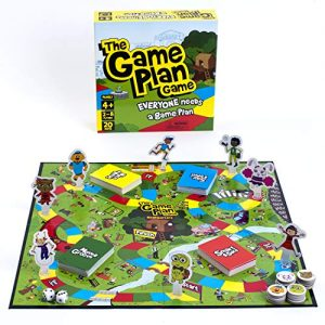 The Game Plan Game: Life Skills for Kids Teach Your Child to be Safe, Problem-Solving, Feelings Management, Social Skills